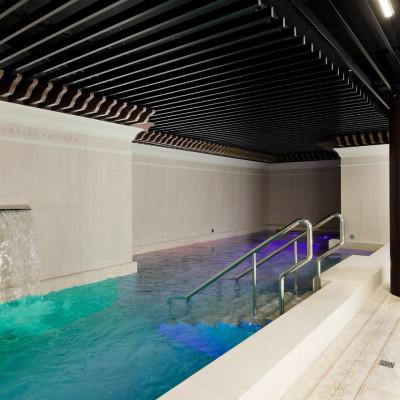 Итальянские Термы в санатории Машук Аква-Терм, бассейн в комплексе