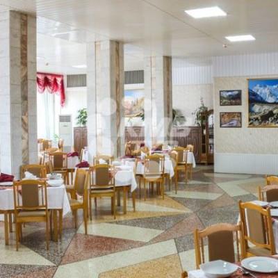 Санаторий Руно просторный обеденный зал
