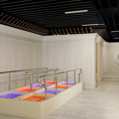 Итальянские Термы в санатории Машук Аква-Терм, контрастные ванны