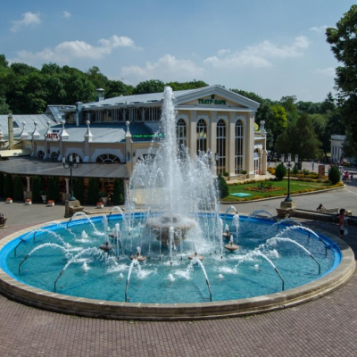 Санаторий Юность Ессентуки городской парк