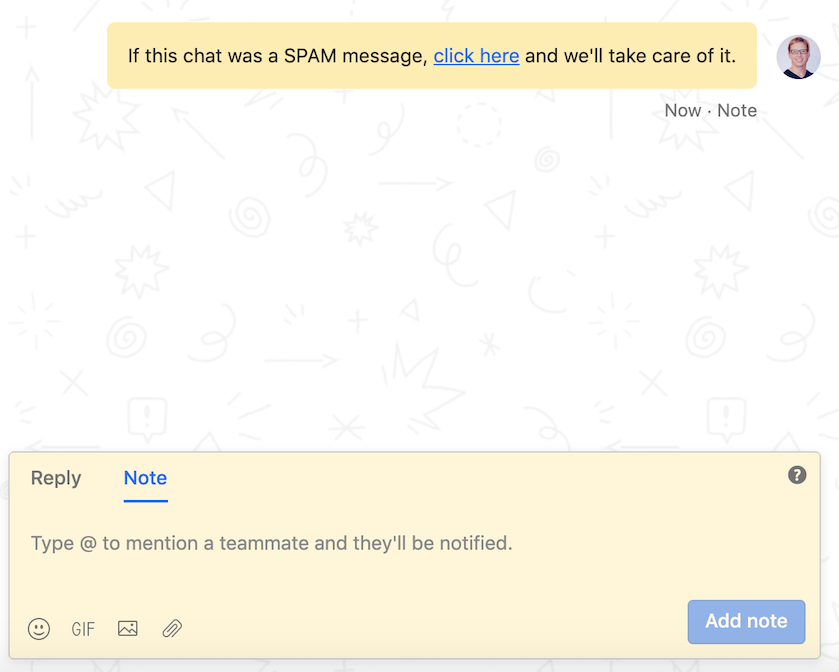 How to boost sales productivity by automating away chat spam 2