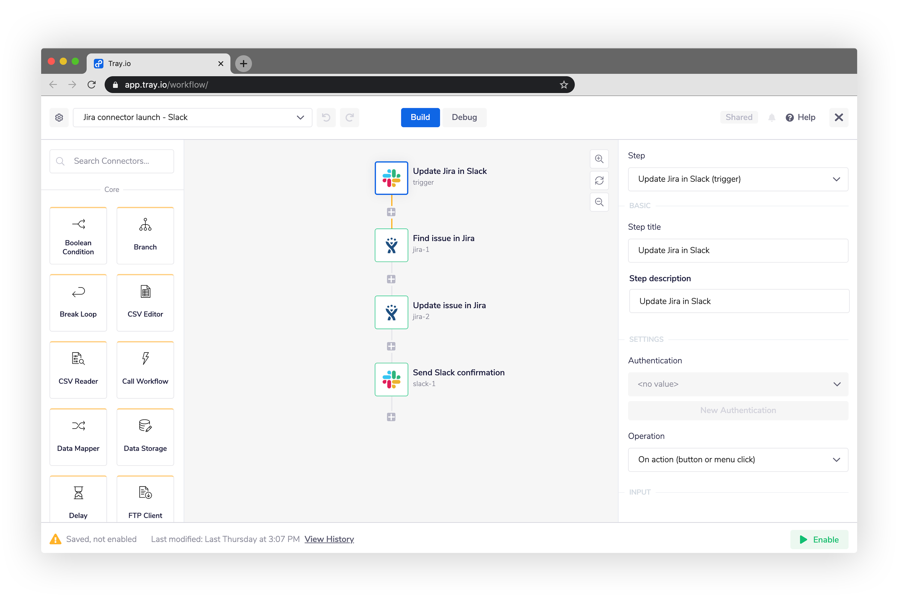 Jira Slack integration