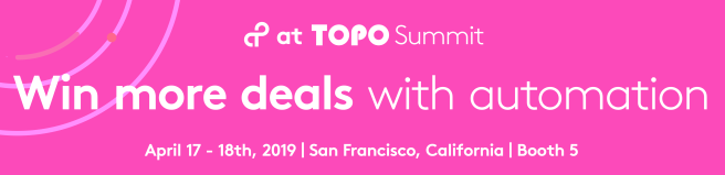 TOPO Summit 2019 covers practical, actionable advice and case studies on real-life sales and revenue operations challenges in the field.