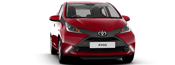 Toyota Aygo private lease actie