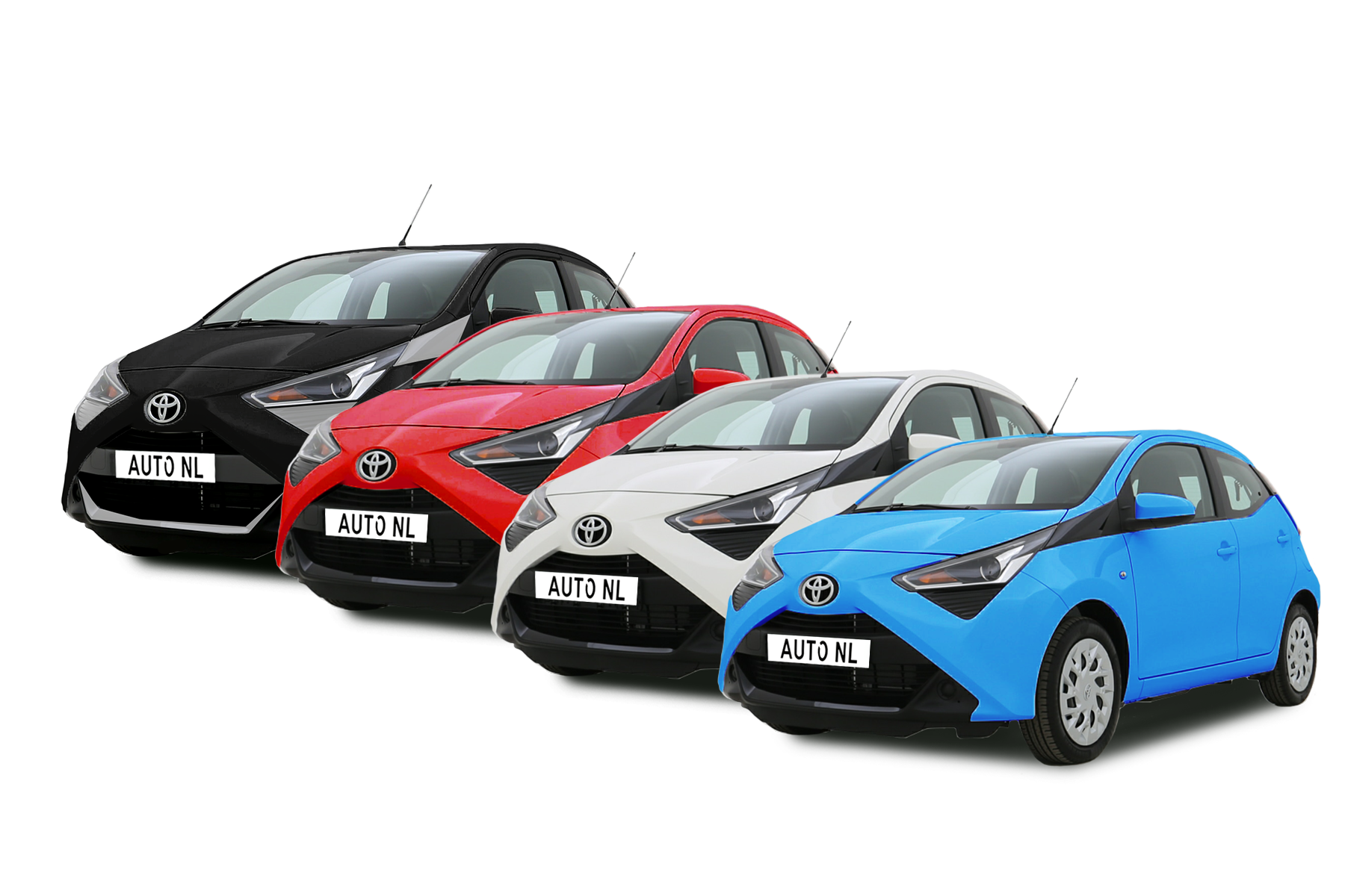 Toyota Aygo X-Play Private Lease Actie