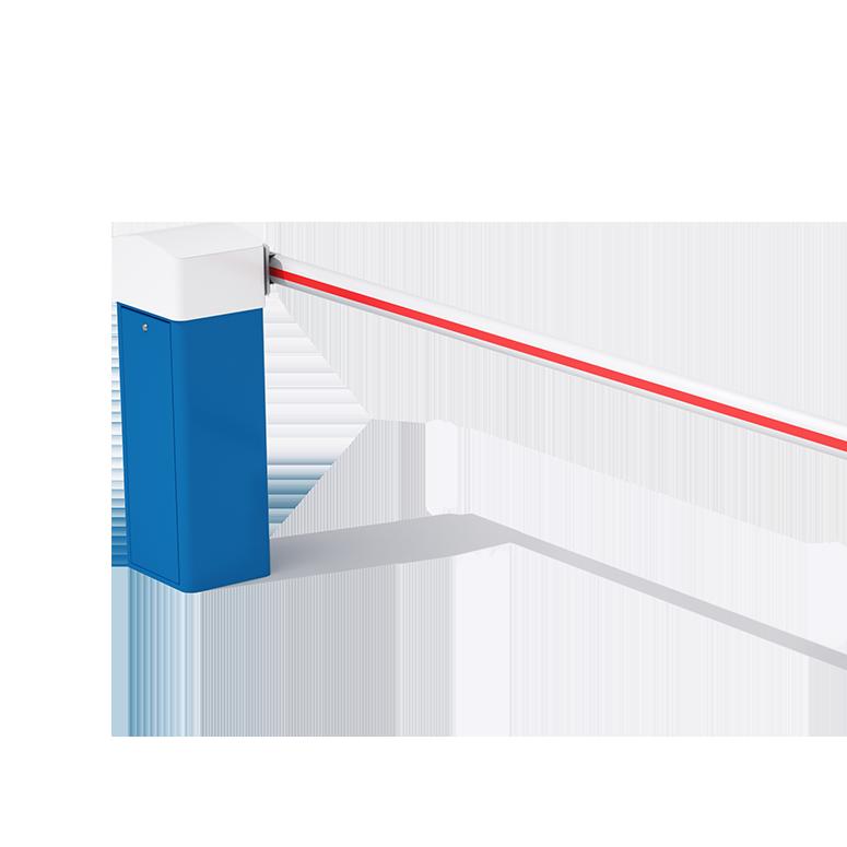 Barrière levante automatique avec lisse latérale jusqu'à 6 m