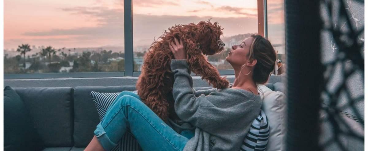 Singielka z psem