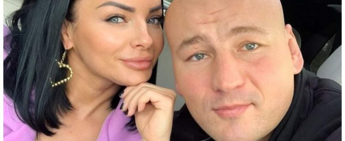 Artur Szpilka z ukochaną Kamilą