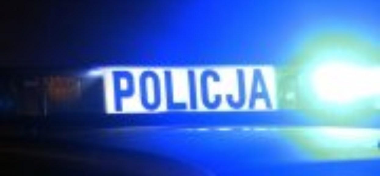 Policja napis na radiowozie