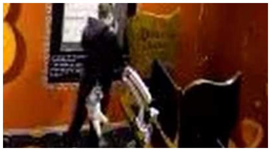 Ujęcia z kamery monitoringu