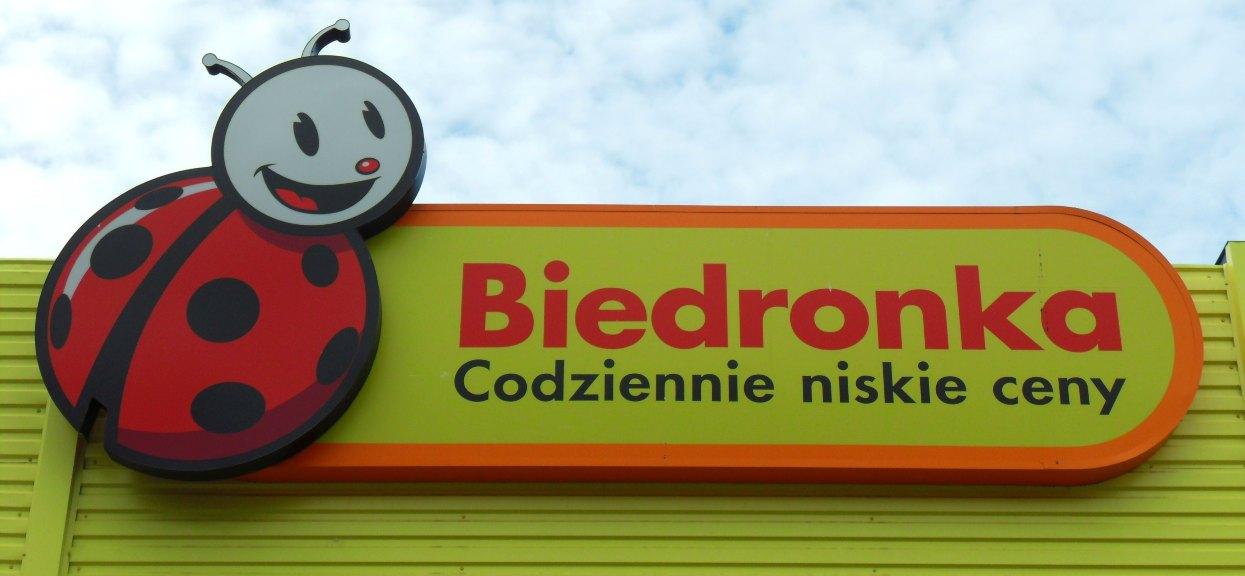 Logo sklepu Biedronka