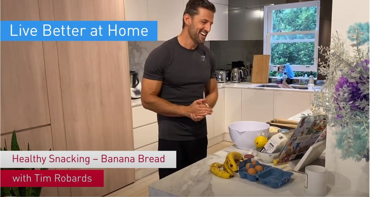 Tim's healthy banana bread