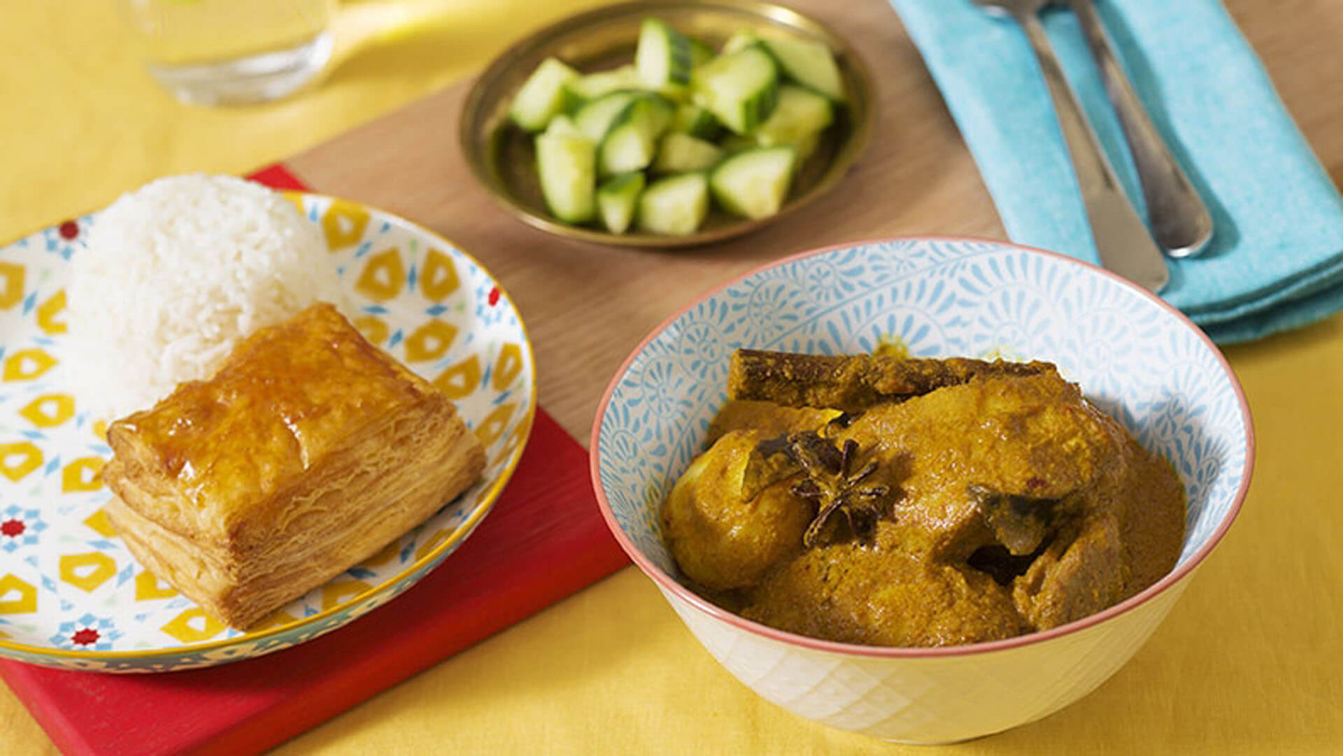 Poh's Nyonya chicken curry