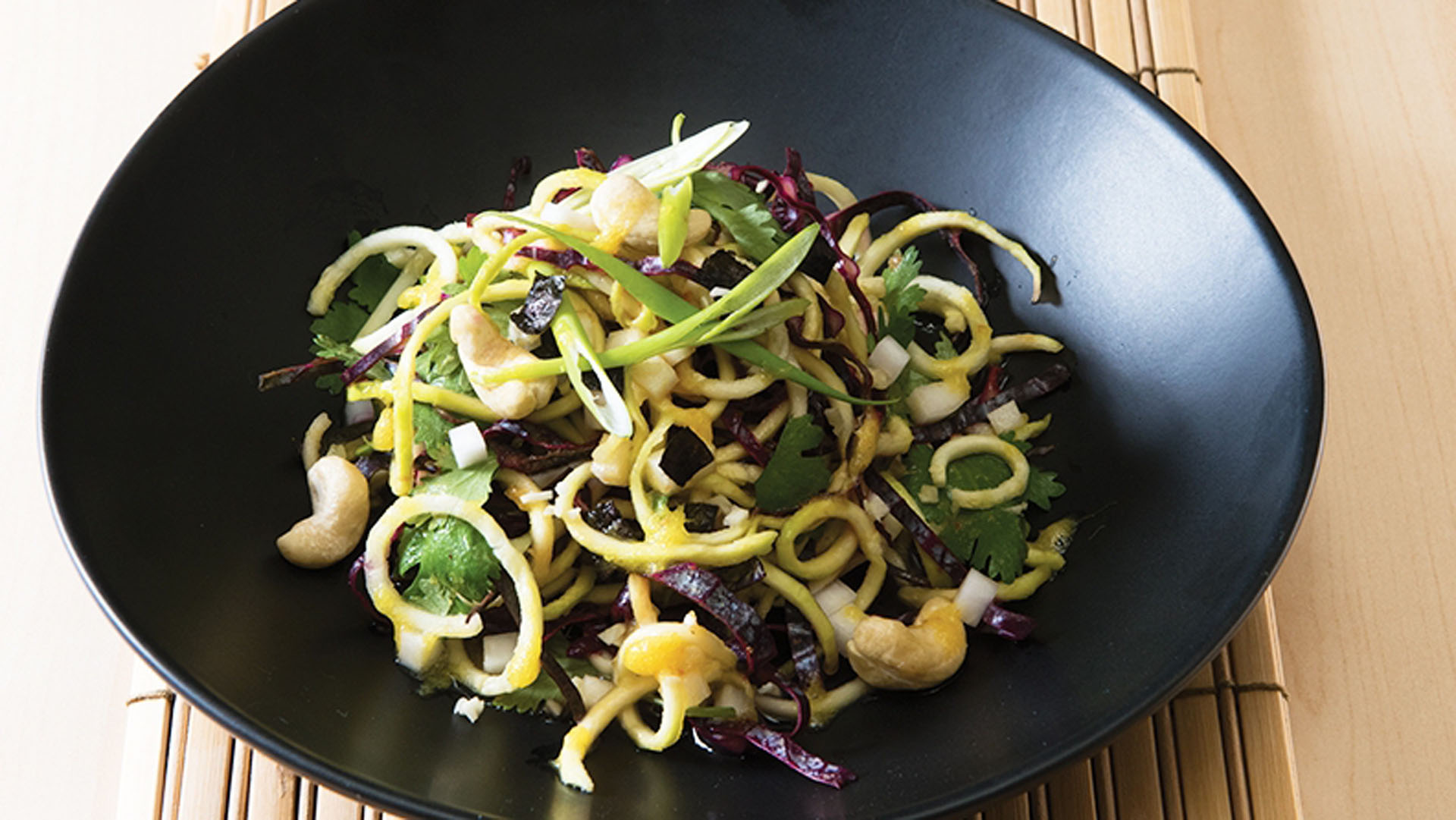 zucchini-noodle-and-coriander-salad-recipe