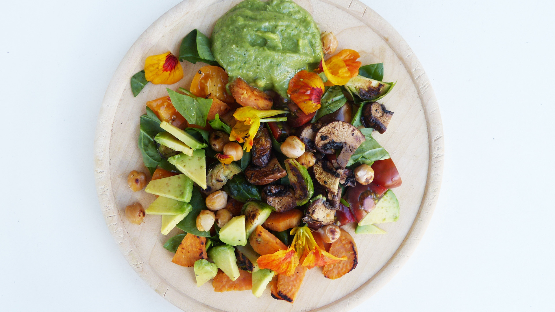 roast-veggie-salad-with-avocado-sauce