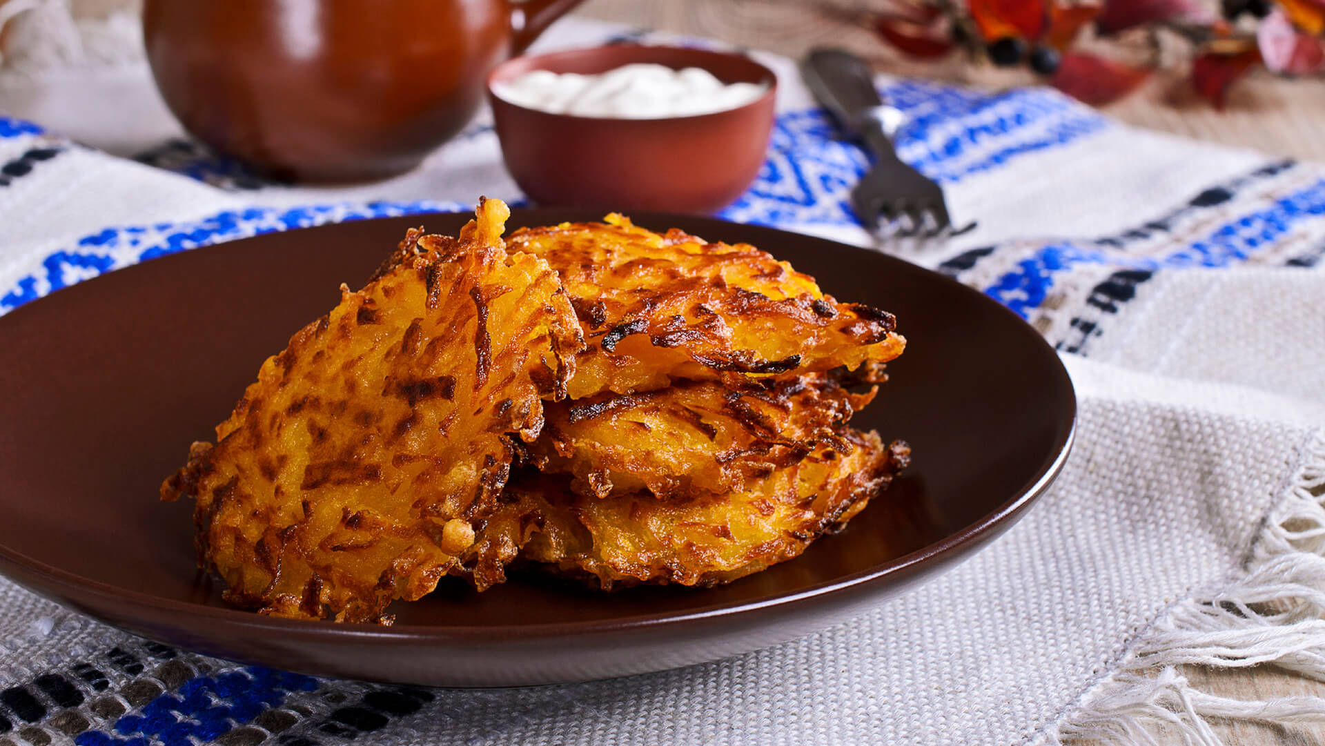 Vegetable Draniki potato pancakes
