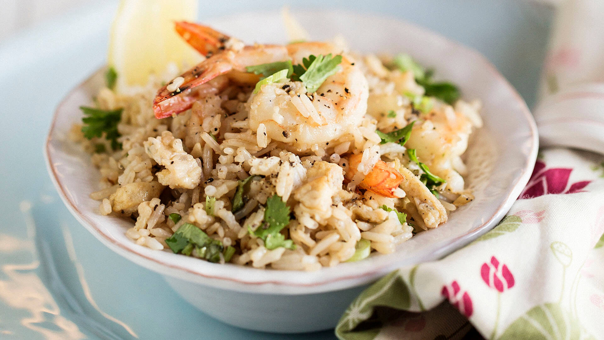Marion Grasby's Thai prawn fried rice
