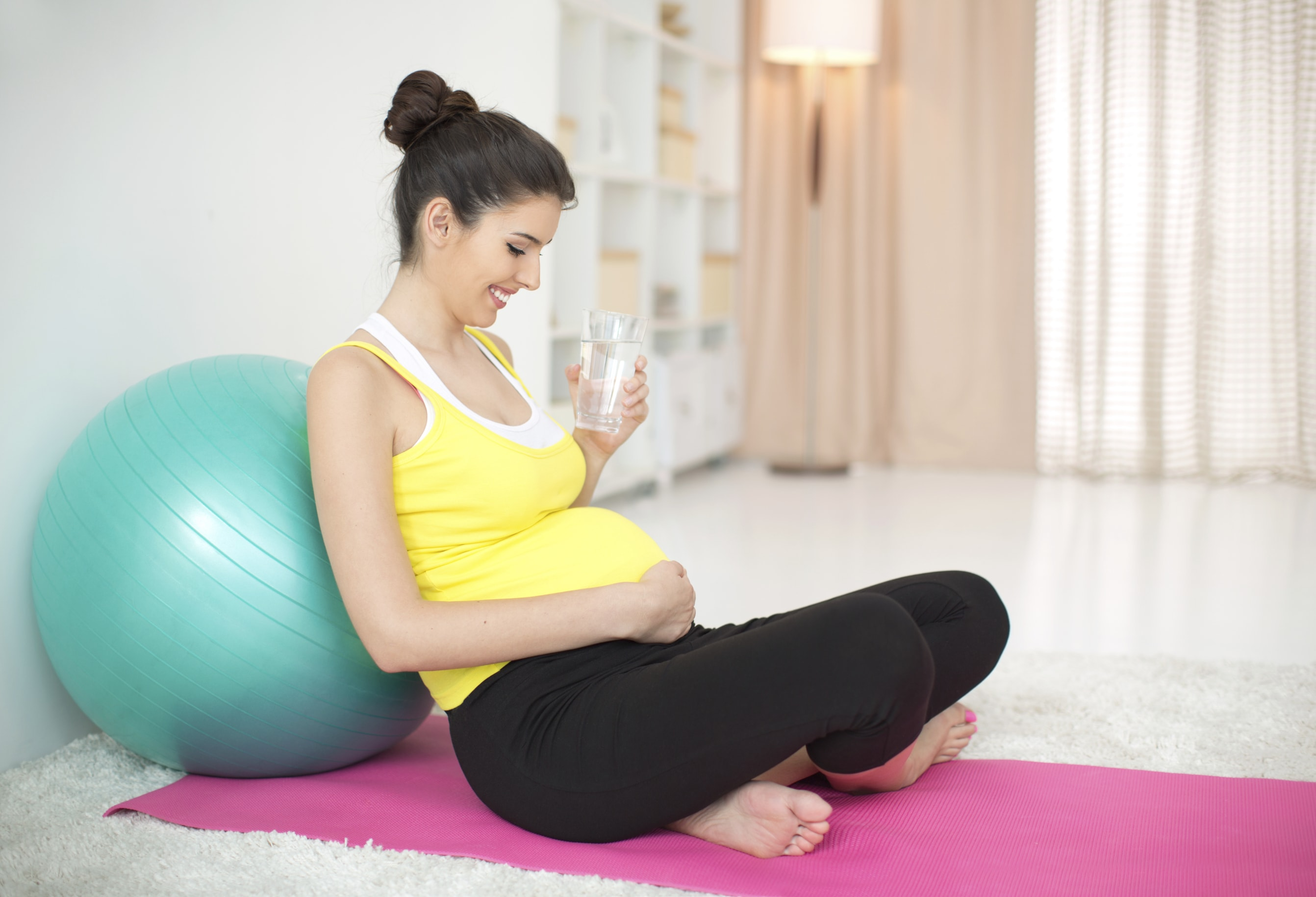 Staying well hydrated is even more important when you're pregnant.