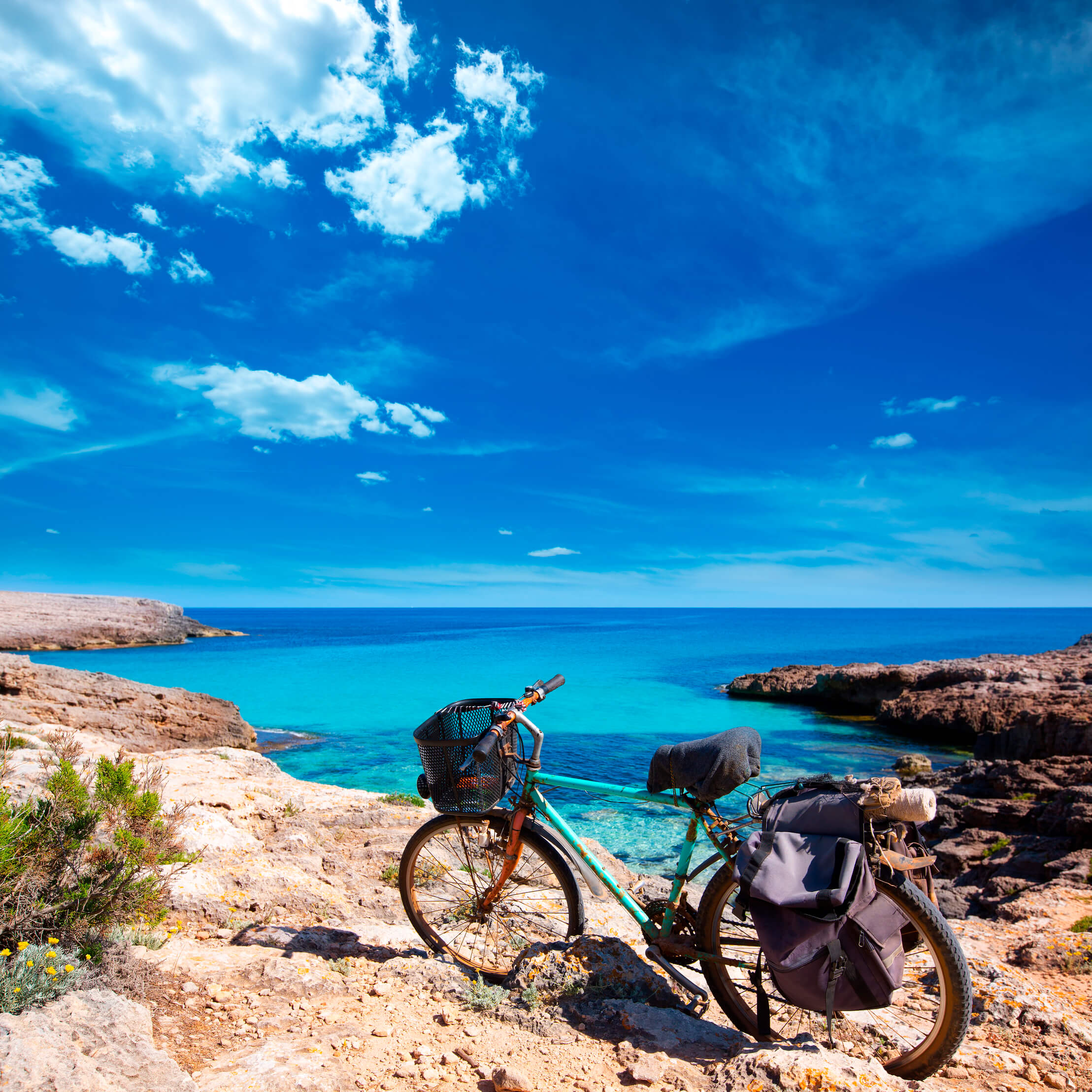 Bicycles are the perfect way to experience overseas travel.