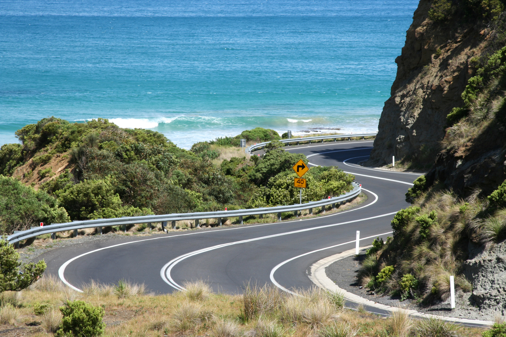 The Great Ocean Road, Victoria, Australia. One of the world's best road trips.