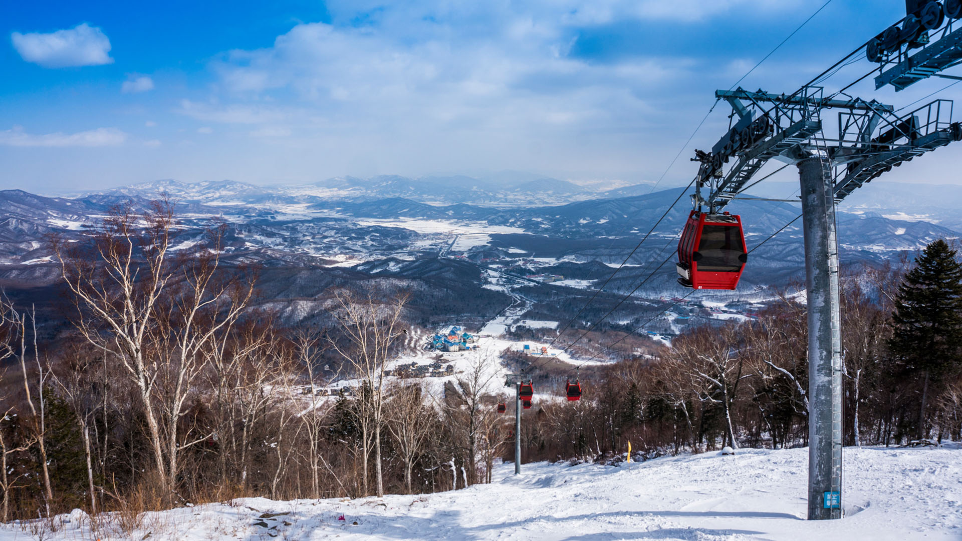 Skiing is growing rapidly in popularity in China