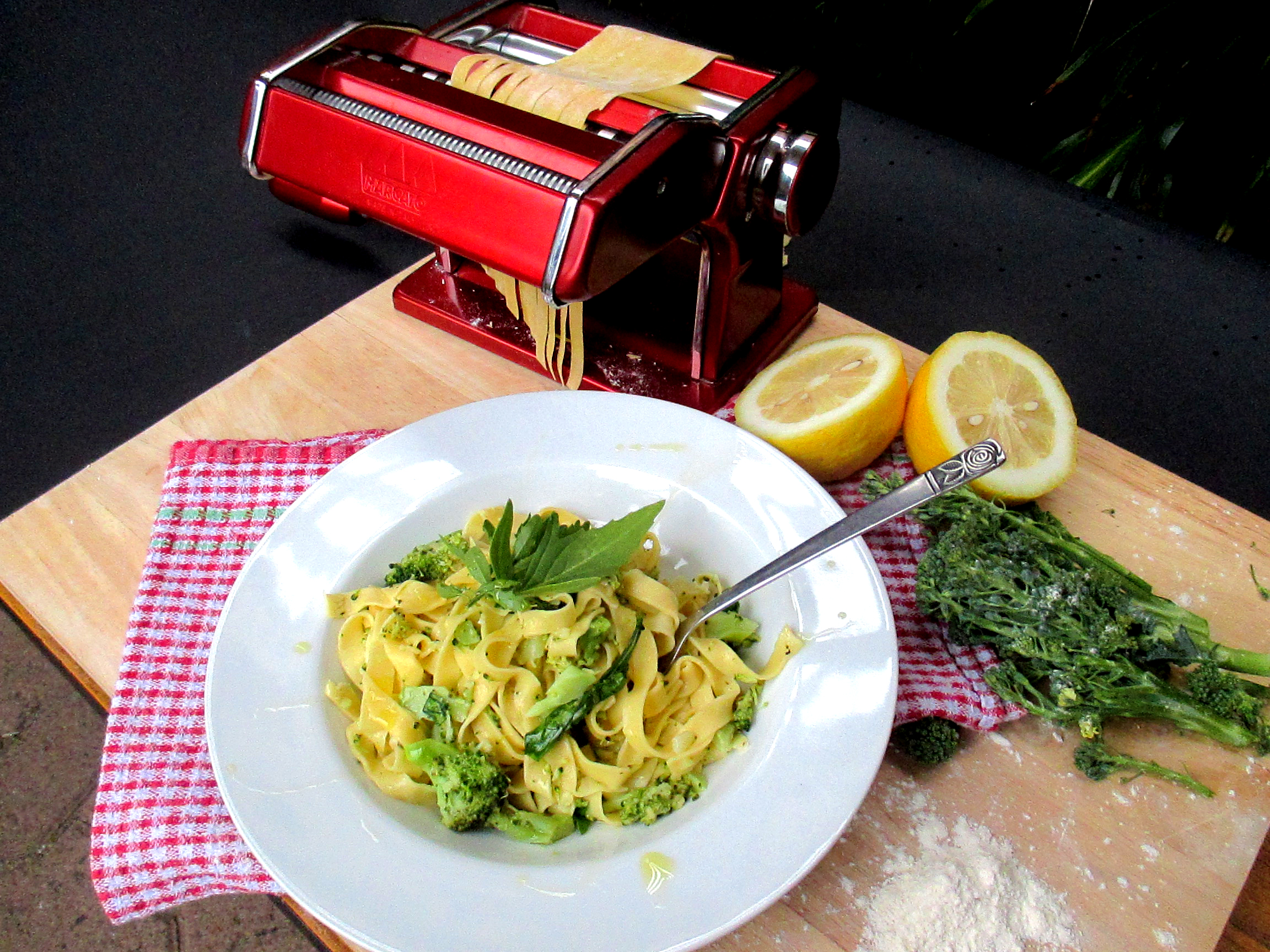 Broccoli carbonara copy