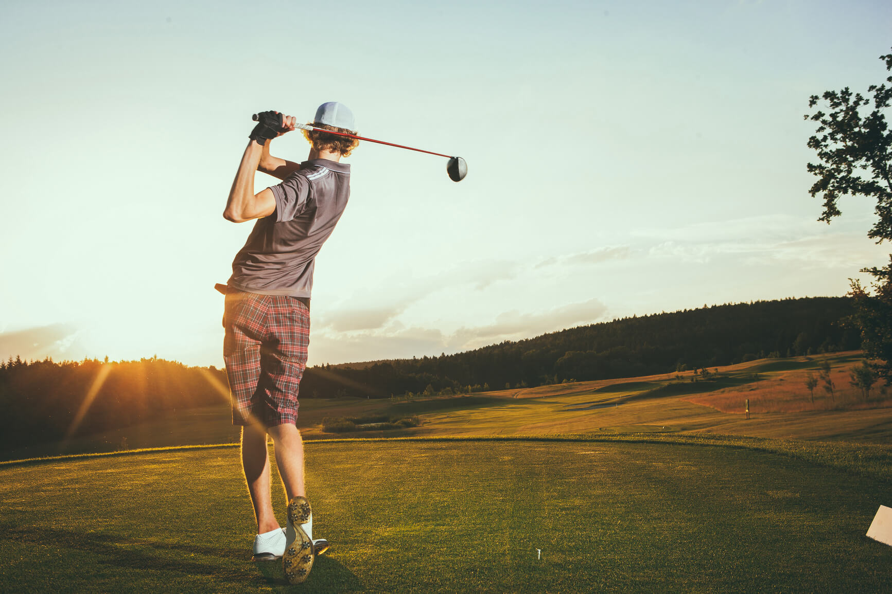 Teeing off regularly won't only help your swing, but your physical wellbeing as well.