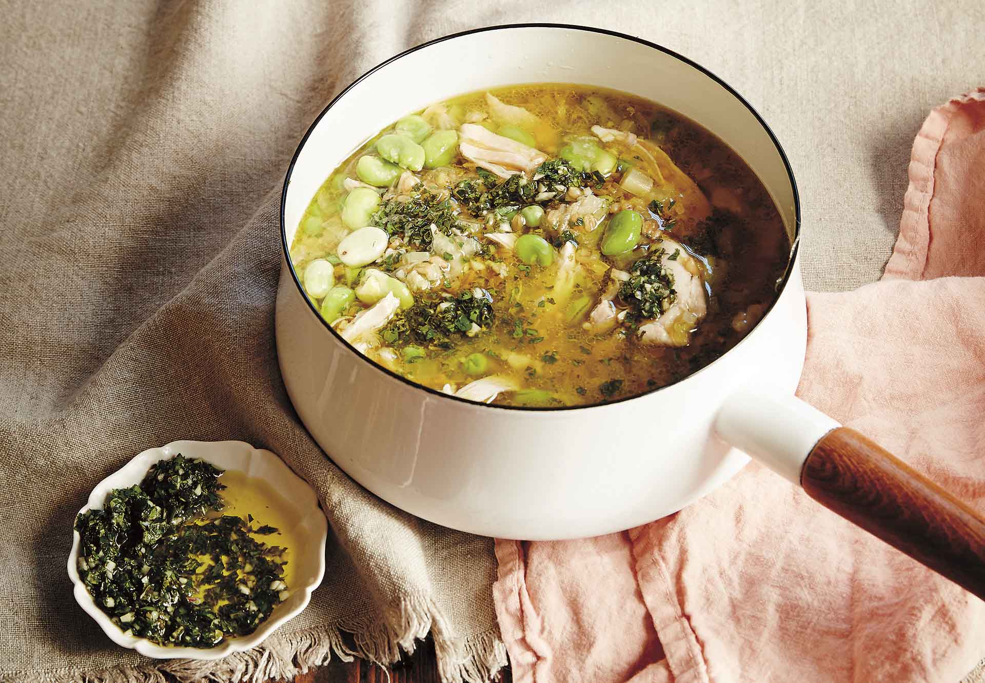 Julia Ostro D6249 SOUP chicken broth 1