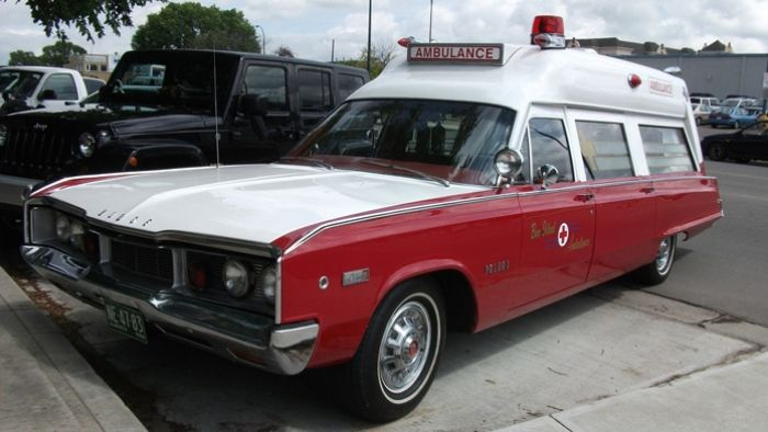 The ambulance has had a rich and quirky history.