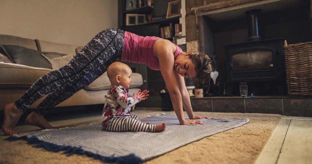 Beginner bedtime yoga routine | Live Better