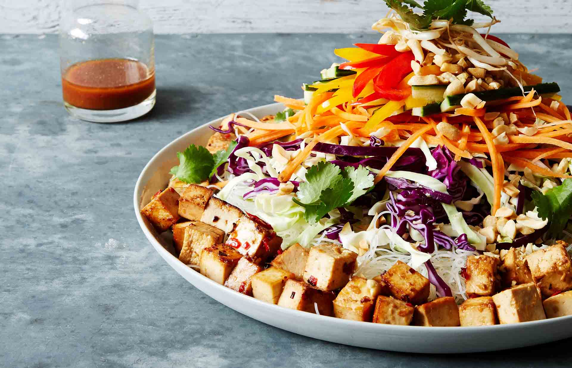 be_Thai noodle salad with marinated tofu recipe