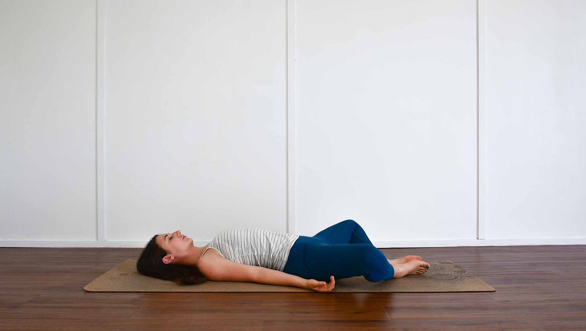be_ Yoga routine_ Reclined butterfly pose