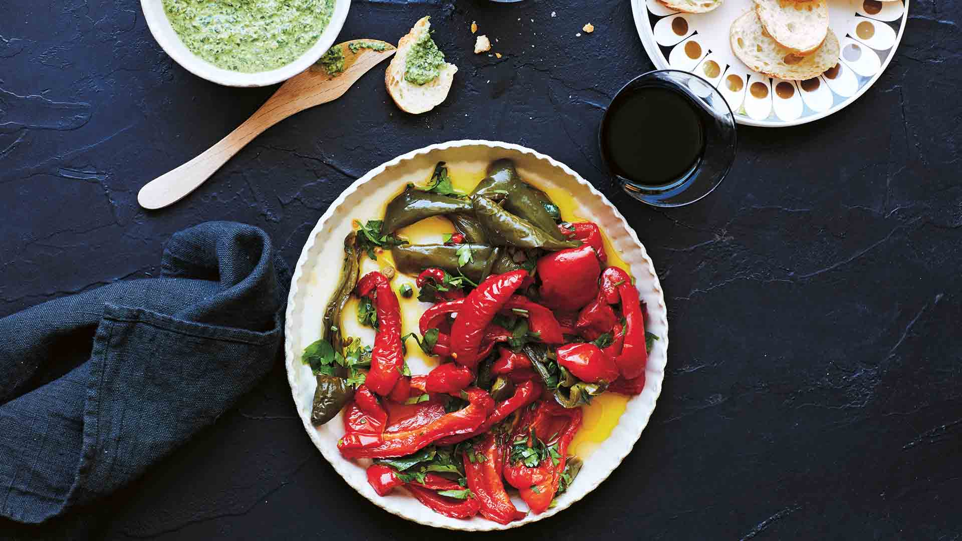 be_roasted capsicum recipe