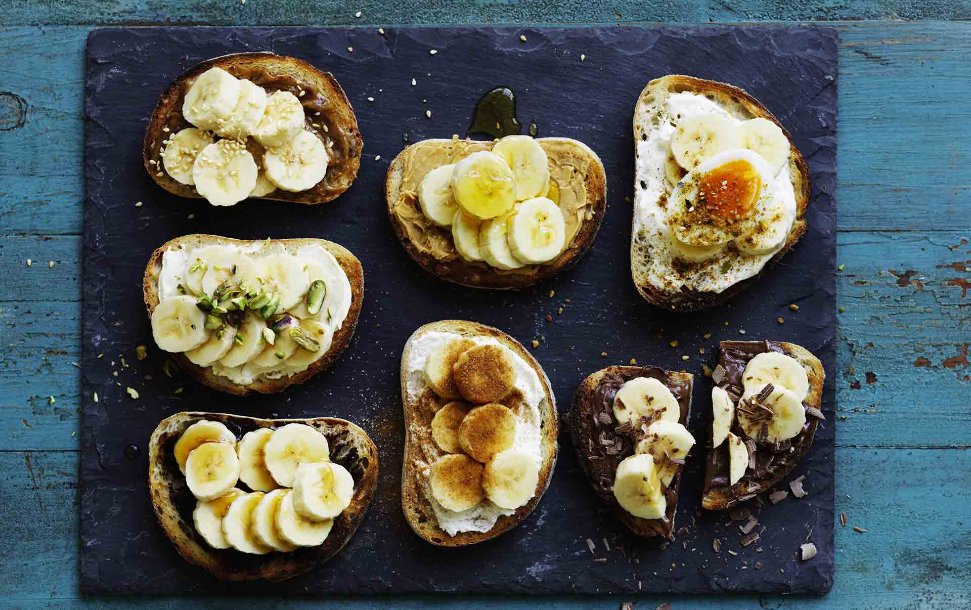 be_7 banana breakfast bruschetta recipes