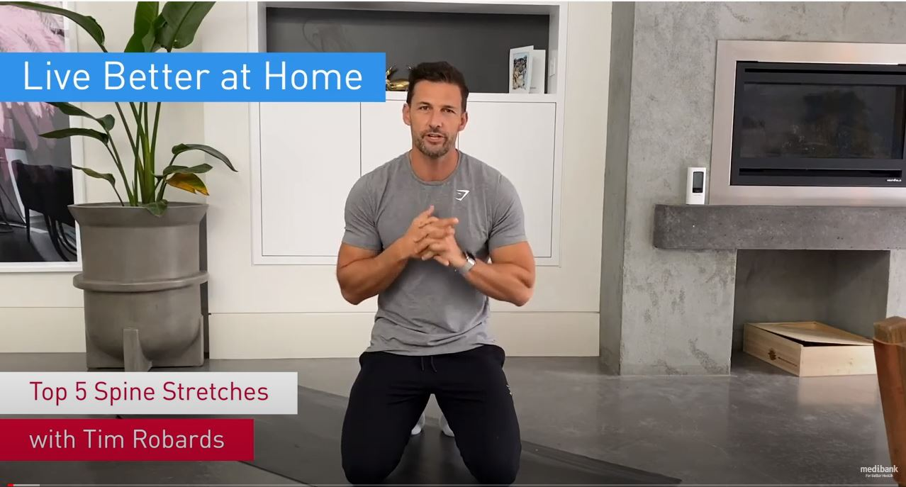 Tim's top 5 spine stretches