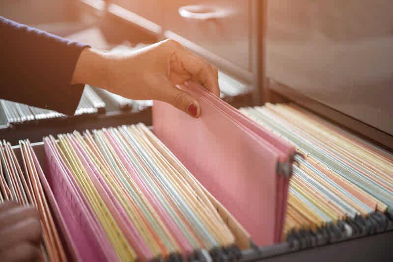 What is a thin credit file?