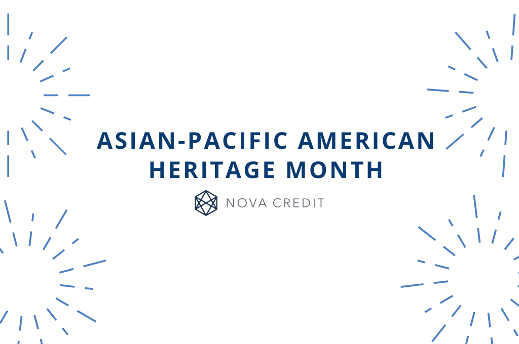 Celebrating Asian-Pacific American Heritage Month at Nova Credit