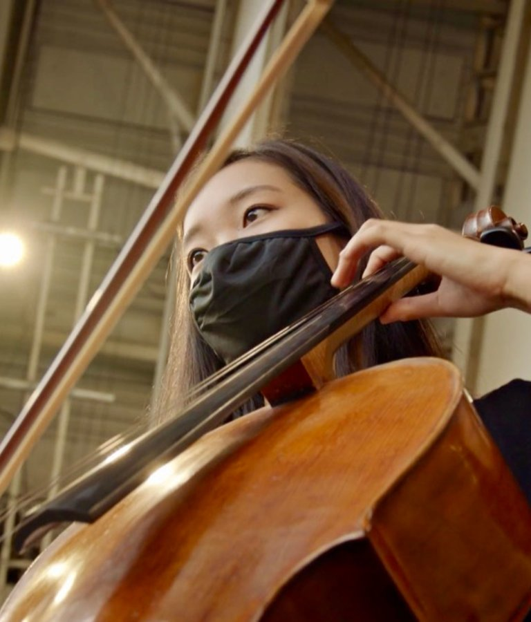Dahae Kim, assistant principal, cello