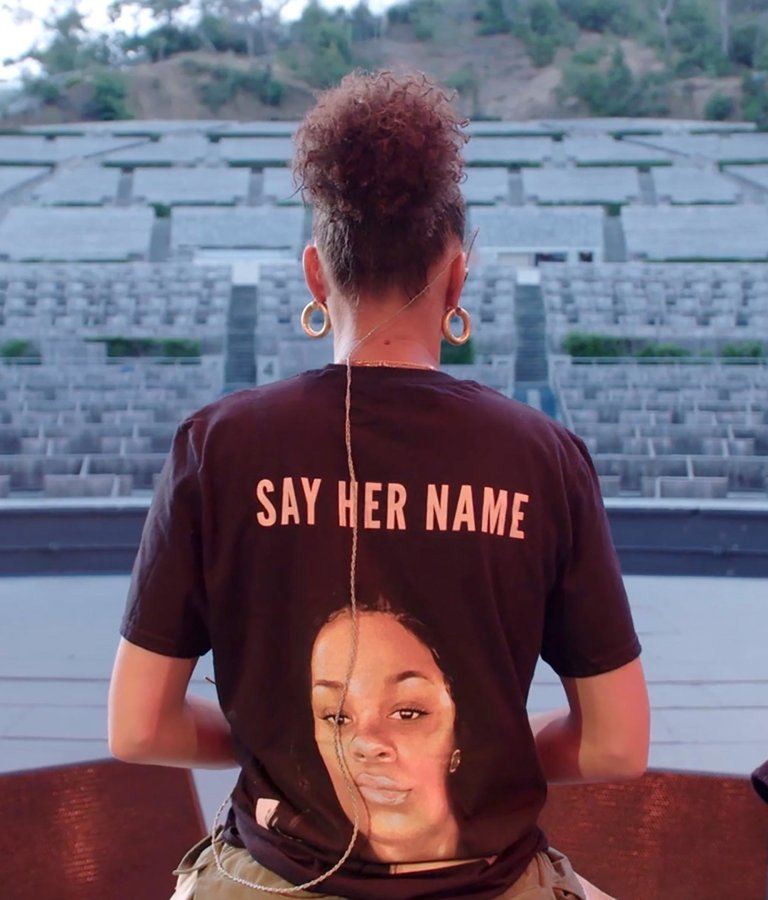 Andra Day, Episode 4, Say Her Name, back to the camera