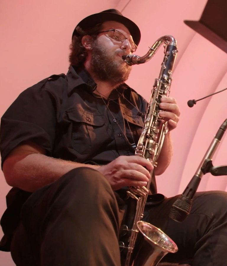 Sean Sonderegger, bass clarinet