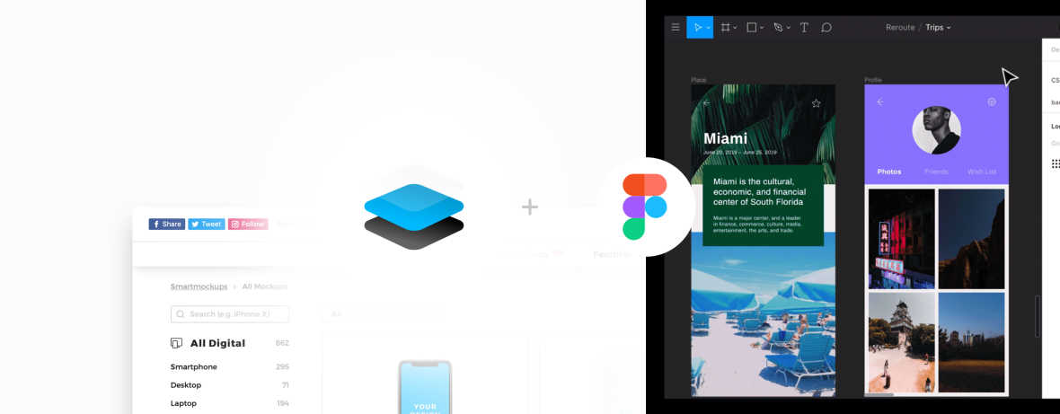 Upload Your Design Projects From Figma Right Into Smartmockups To Create Realistic Prototypes Smartmockups Blog