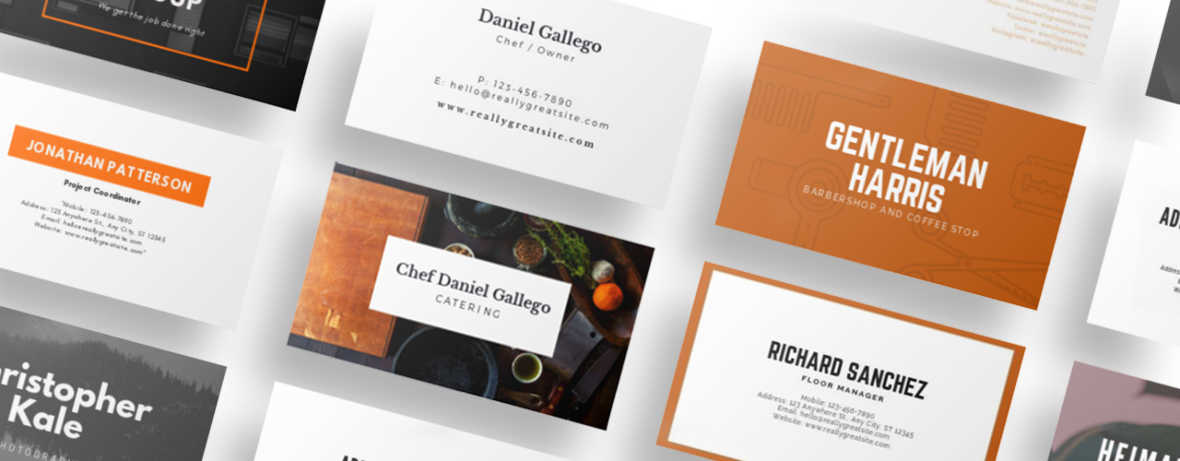 Showcase realistic business card designs and leave the best impression possible