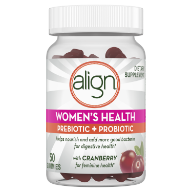 Align Women's Health Prebiotic + Probiotic Supplement Gummies