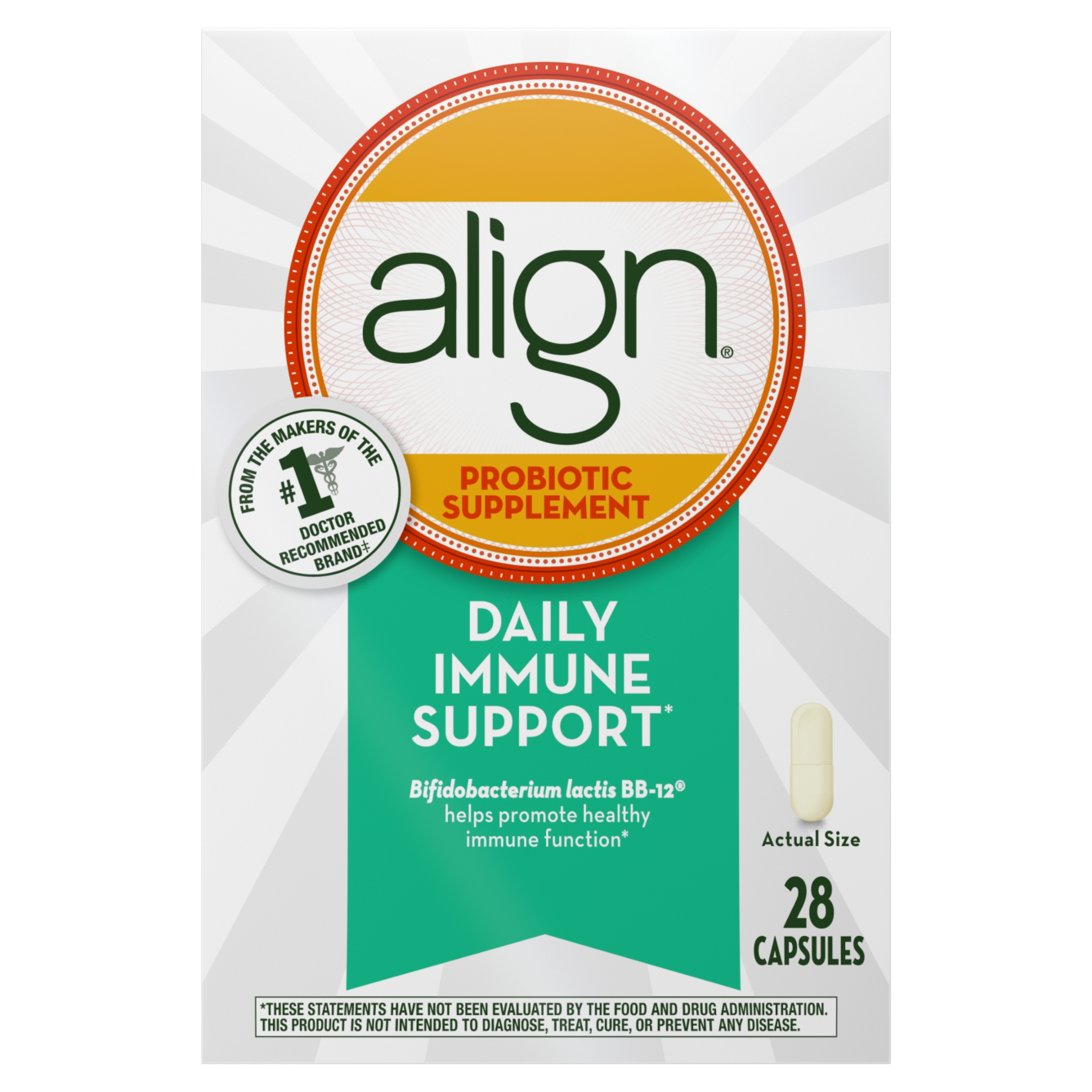 Align Daily Immune Support Probiotic Supplement