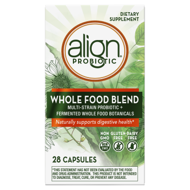 Align Whole Food Multi-Strain Probiotic Supplement