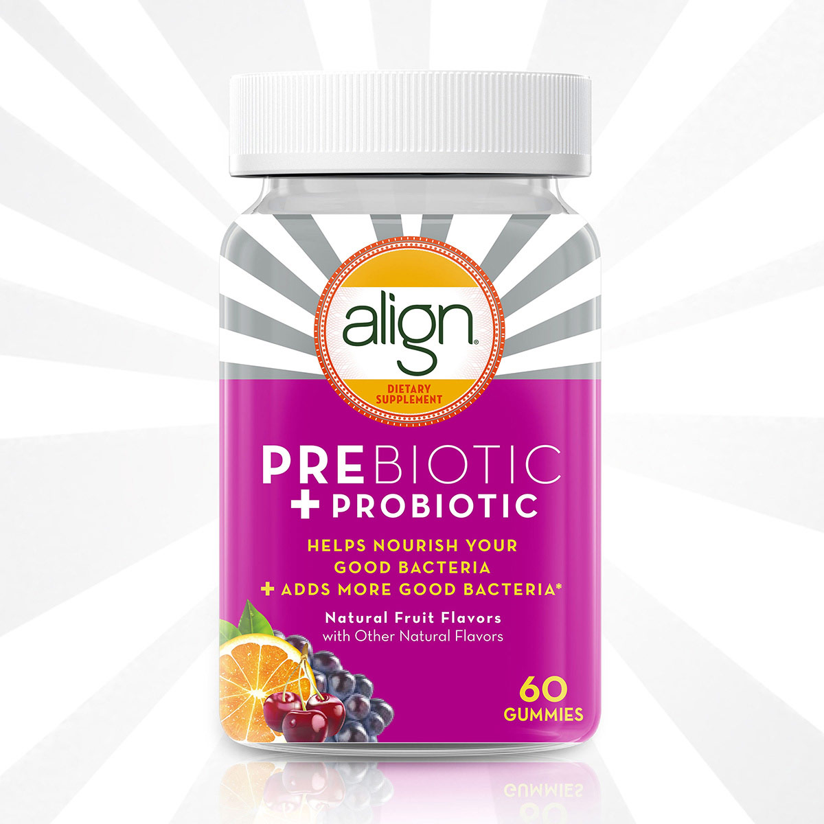 ALIGN PREBIOTIC + PROBIOTIC GUMMIES SUPPLEMENT