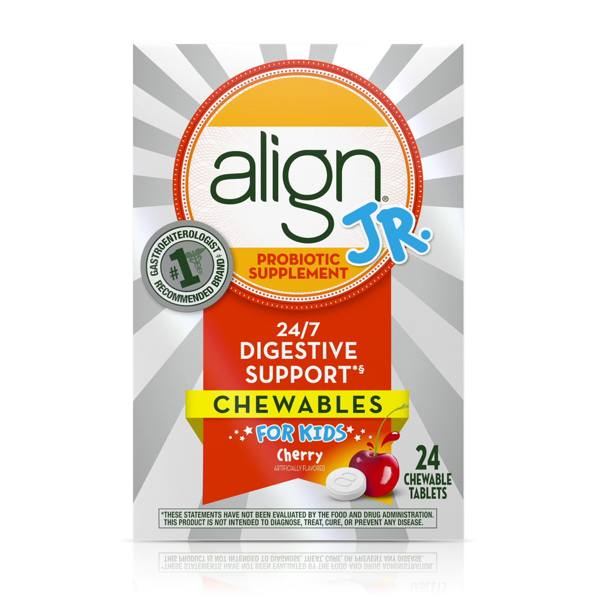 ALIGN JR. PROBIOTIC SUPPLEMENT CHEWABLES FOR KIDS