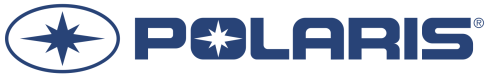 The Polaris corporate logo in their brand color.