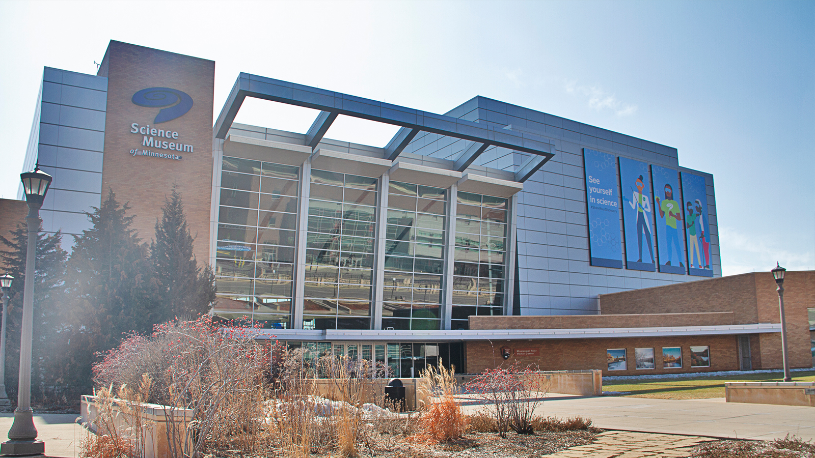 Exterior of the Science Museum of Minnesota