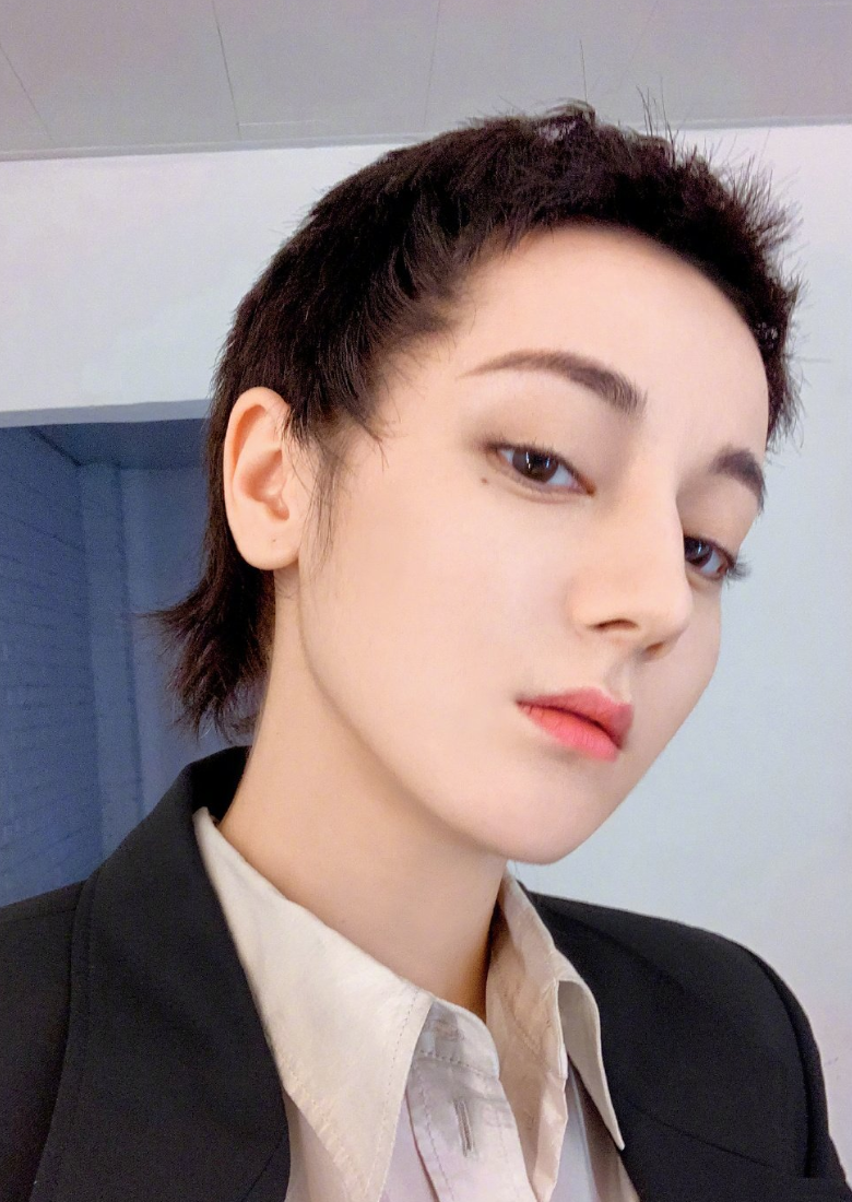 Dilraba Dilmurat Trades In Her Long Hair For A Short